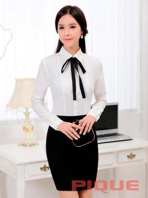 Офисная блузка недорого
