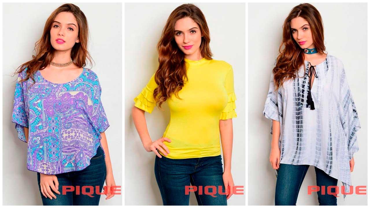 Преимущества сотрудничества с Pique по оптовым поставкам женской одежды