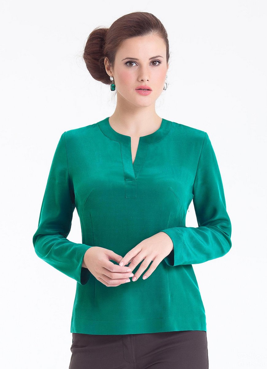 Наиболее качественные блузки сегодня шьют в Киргизии