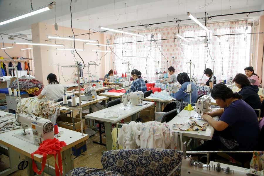 PIQUE - Швейная фабрика в Бишкеке